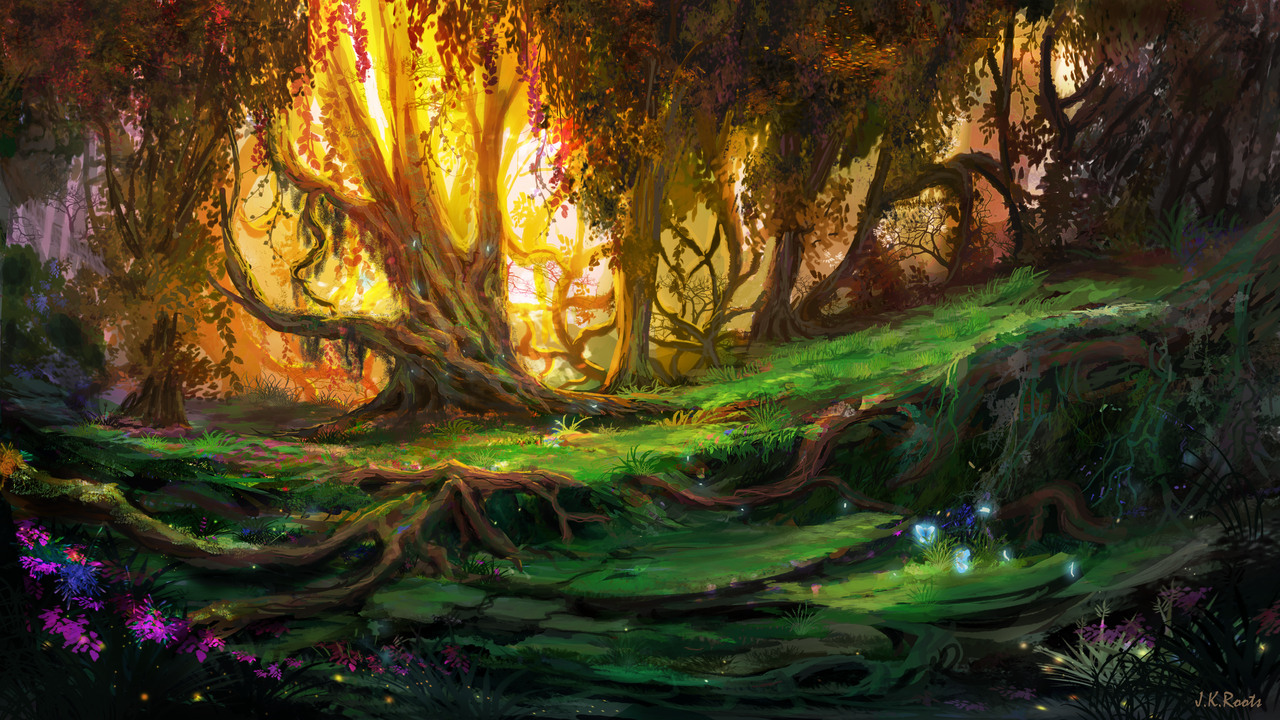 Enchanted Forest 3 – J.K. Roots Art